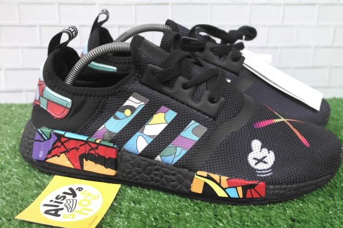 5eb7dbfd32bfa Jual Sepatu Adidas NMD R1 Kaws x Black - Premium Quality - Kota ...