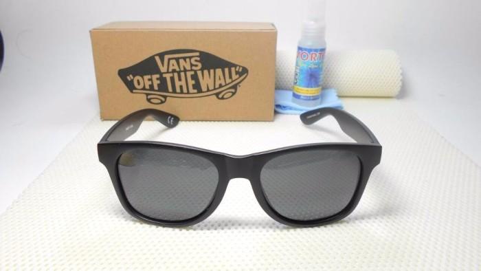 Jual kacamata vans hitam doft polarized - Kaos Import  919f217e45