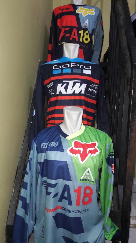 harga Jersey sepeda downhill dan motor cross traill 2017 Tokopedia.com