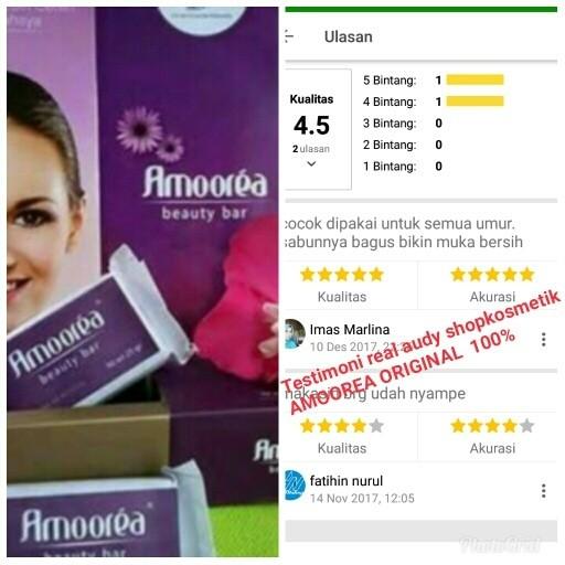 harga Sabun amoorea 1 bar / sabun pemutih / sabun amorea / sabun ajaib Tokopedia.com