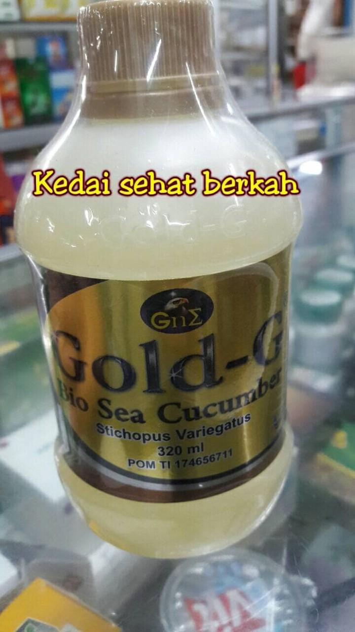 Jual Jelly Gamat Gold G Bio Sea Cucumber 320 Ml Murah Kedai Sehat