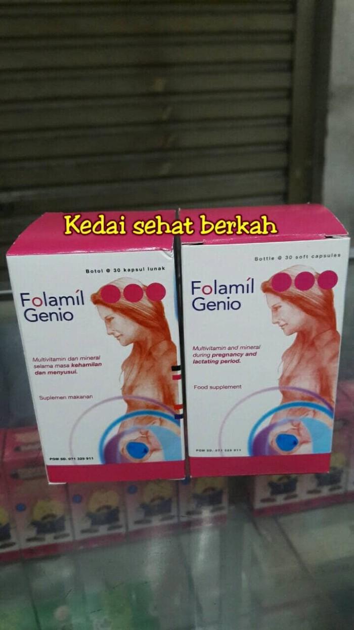 harga Folamil genio  suplemen untuk ibu hamil & menyusui  murah Tokopedia.com
