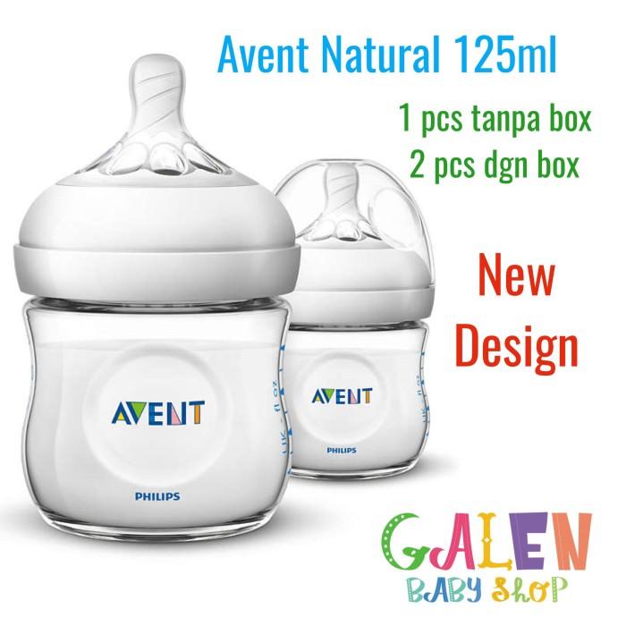 harga Avent isi 1 pcs botol susu natural 125 ml dot philips bayi baby ori Tokopedia.com