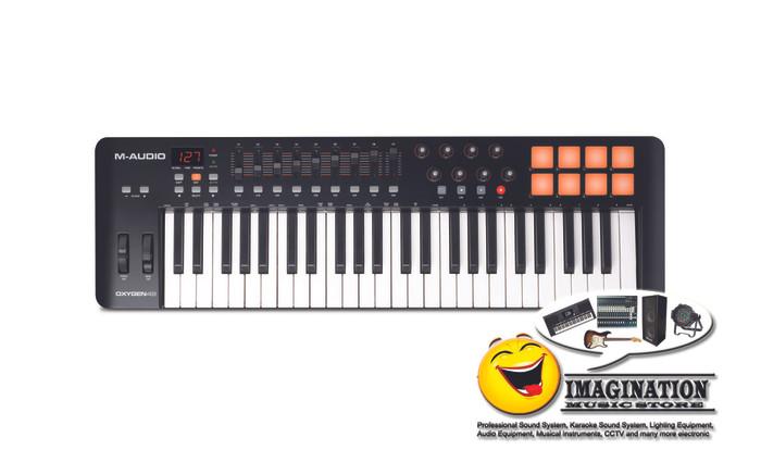 harga M-audio oxygen 49 mk iv keyboard controller Tokopedia.com