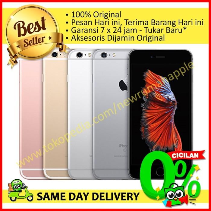 Apple Iphone 6s 16gb Grey Bnib Fu Garansi Internasional 1 Tahun