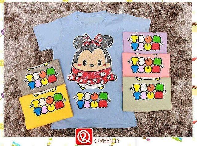 harga 4675 kaos wanita oreenjy tsum tsum minnie mouse Tokopedia.com