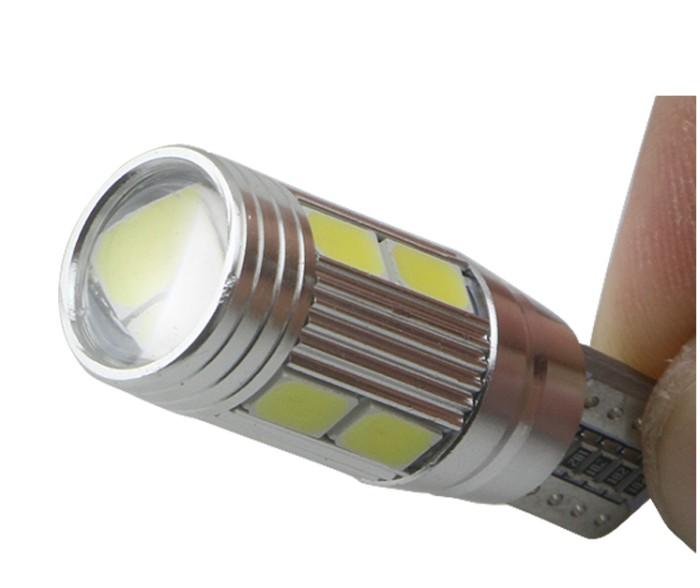 LAMPU LED CUMI T10 10 MATA LENSA SMD 5730 SENJA SEIN MOTOR MOBIL