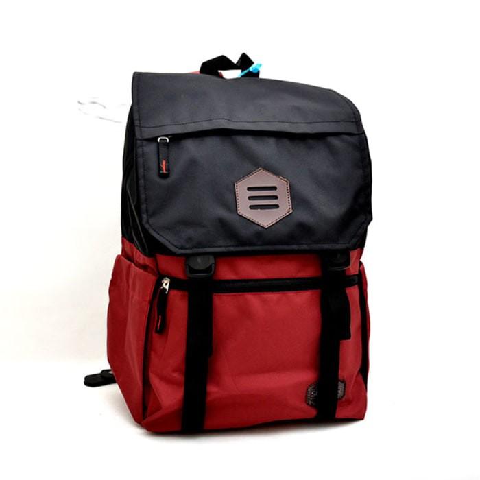 harga Tas laptop 14inc island of stone maroon/ tas distro bandung / tas pria Tokopedia.com