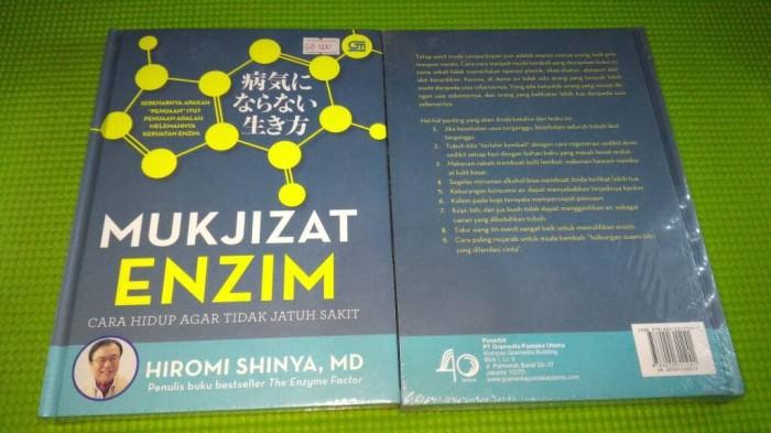 harga Mukjizat enzim cara hidup agar tidak jatuh sakit hiromi shinya md Tokopedia.com