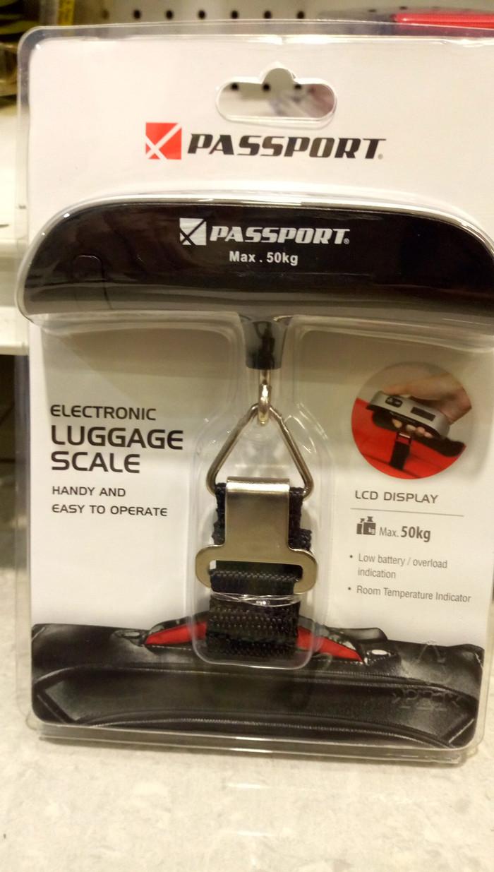Jual Passport Timbangan Koper Digital Luggage Scale 50 Kg Bagasi Tas Electronic Lagguge Portable
