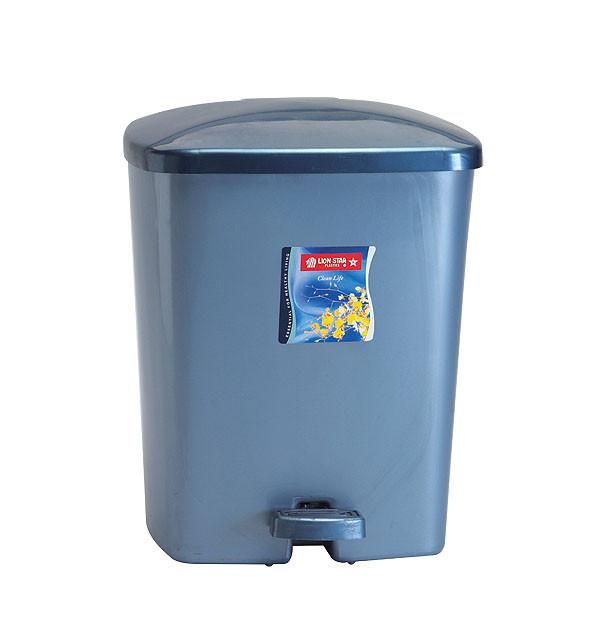 harga Gojek only tempat kotak sampah injak segi dustbin 14 liter lion star Tokopedia.com