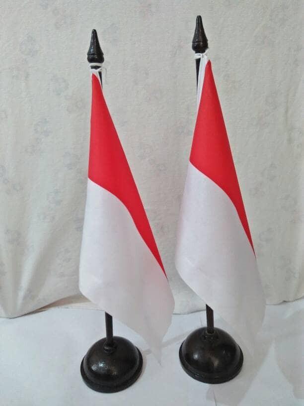 harga Tiang bendera meja + bendera Tokopedia.com