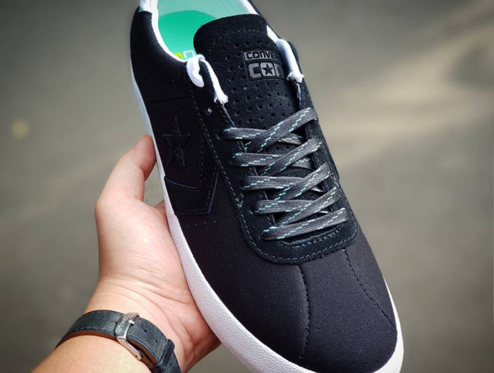 Jual Sepatu Converse Cons Breakpoint Pro Suede Backed Canvas Black ... 2f3354907
