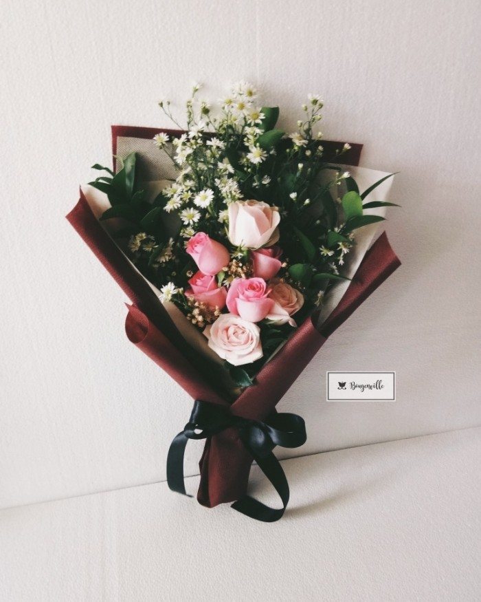 Contoh Soal Dan Contoh Pidato Lengkap Gambar Rangkaian Bunga