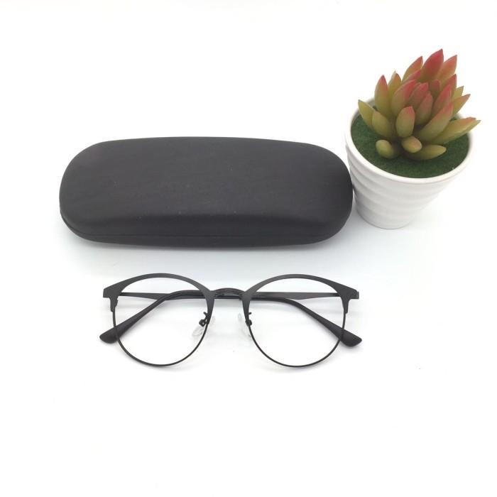 Jual Frame Kacamata Calvin Klein Besi Black Kacamata Korea  e0a4d6c0eb