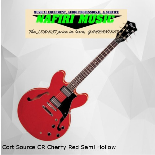 harga Cort source cr cherry red semi hollow original Tokopedia.com