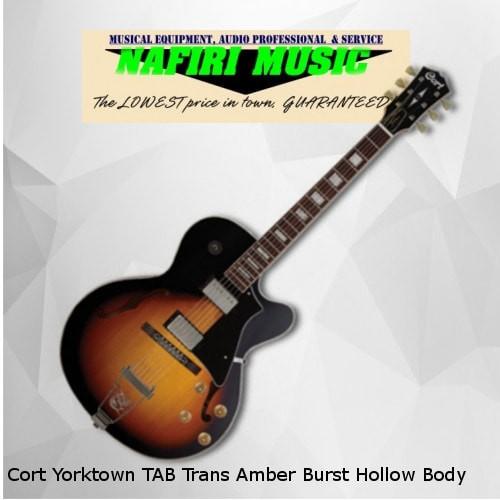 harga Cort yorktown tab trans amber burst hollow body Tokopedia.com
