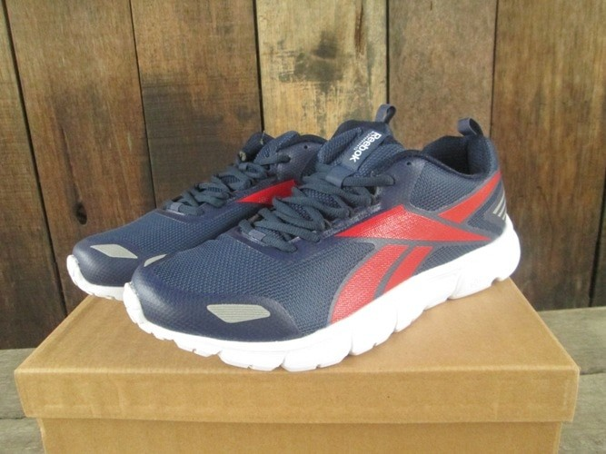 Jual Sepatu Running Reebok Triplehall Mens Navy Red Original Murah ... 981f0f4f94