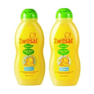 ZWITSAL NATURAL BABY BATH 2 IN 1 HAIR BODY 200 ML