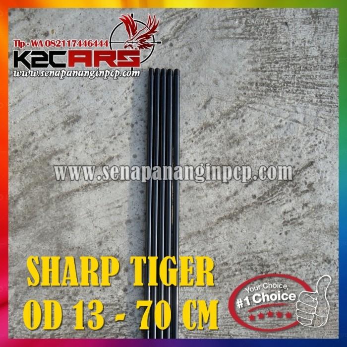 harga Laras baja sharp tiger panjang 70 od 13 Tokopedia.com