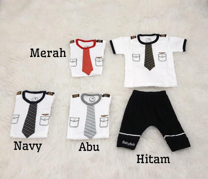 harga Setelan pilot stelan baju anak bayi laki-laki terbaru Tokopedia.com