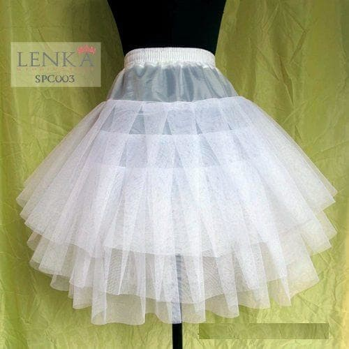 harga Petticoat mini dress l rok tutu pesta (3 layer) l lenka - spc 003 Tokopedia.com