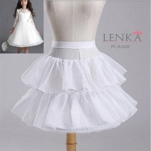 harga Petticoat pengambang gaun pesta anak  lenka pca 002 Tokopedia.com