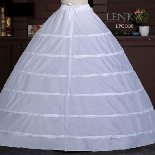 harga Petticoat ball gown gaun pengantin (6 hoop ring) l lenka - lpc008 Tokopedia.com