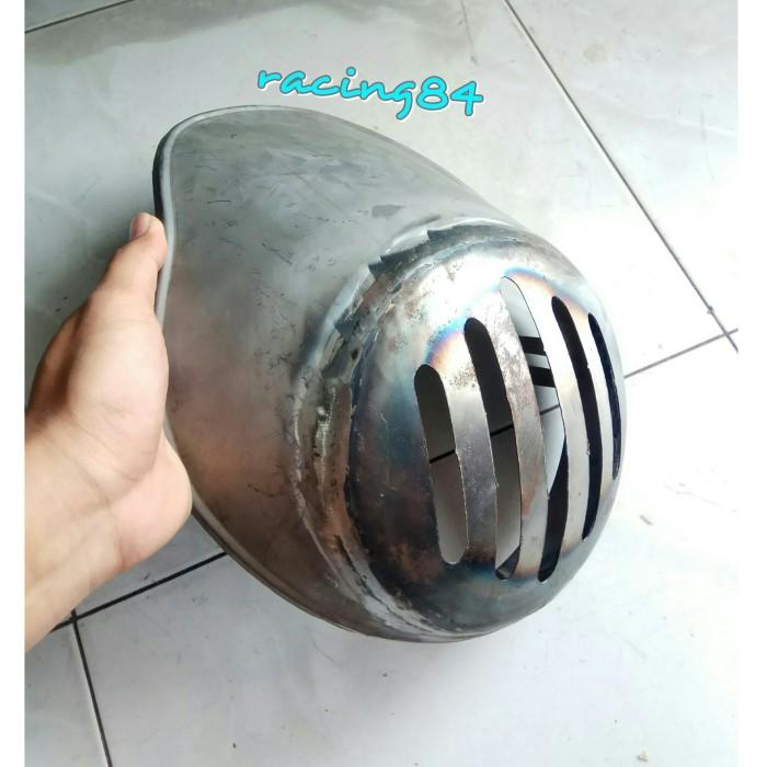 0b99309e Jual LAMPU CAFERACER CAFE RACER GRILL VISOR BATOK HEADLAMP DEPAN ...