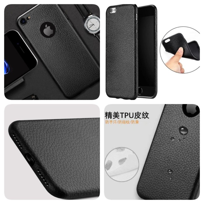 new products a28f5 72bff Jual PREMIUM LEATHER CASE BLACK SOFTCASE WATERPROOF SAMSUNG J5 PRO J7 PRO -  DKI Jakarta - SUPER ASSESORIS | Tokopedia