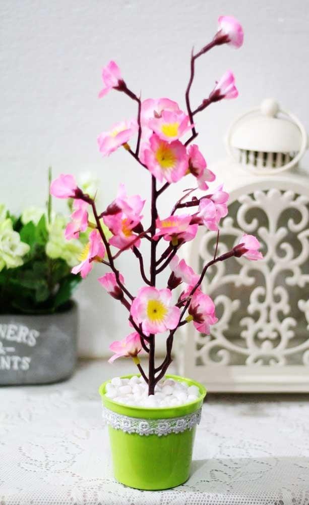 harga Bunga plastik artificial artifisial palsu sakura shabby chic 4d Tokopedia.com