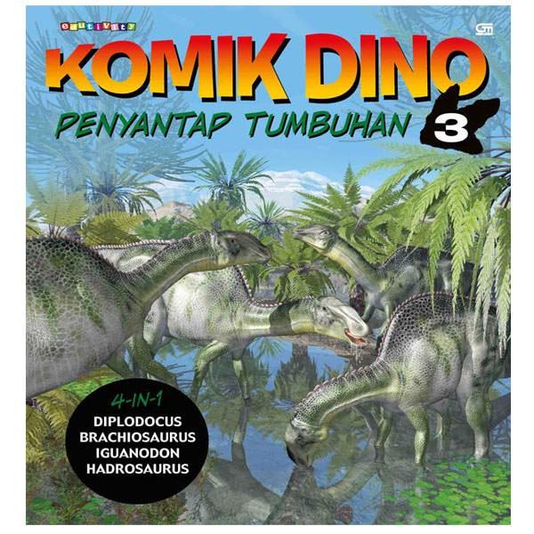 Jual Komik Dino: Penyantap Tumbuhan Harga Promo Terbaru