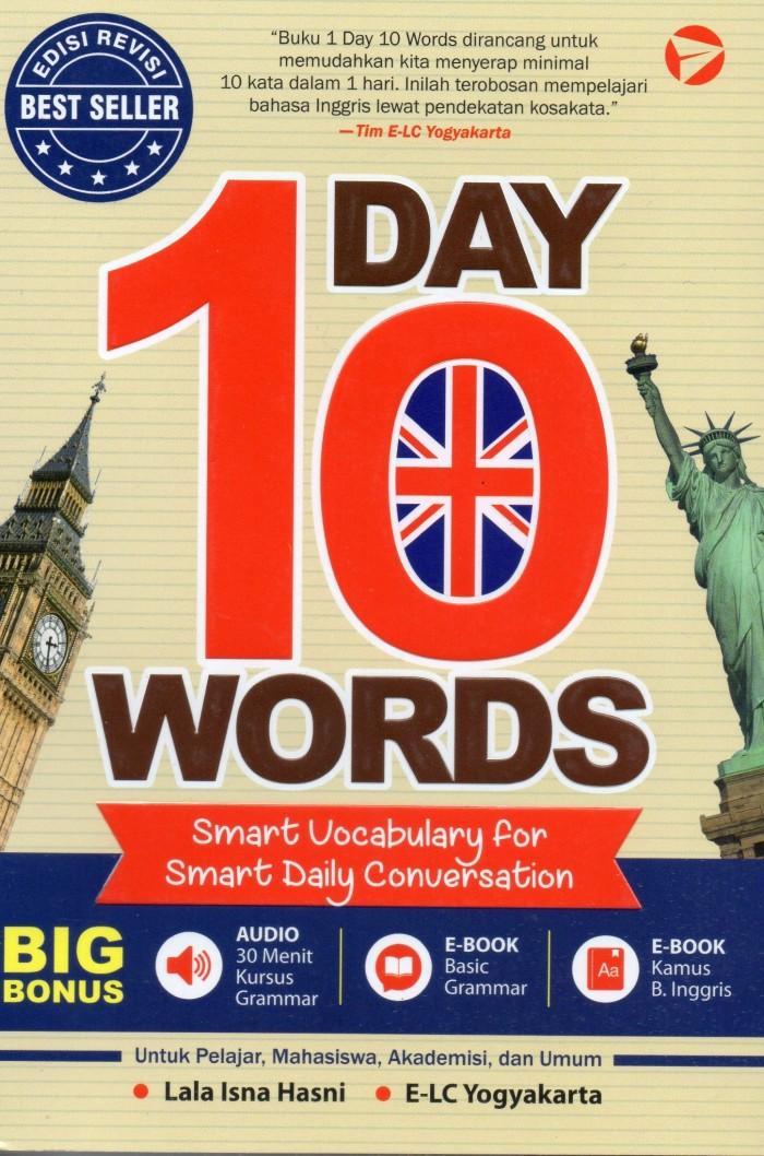 harga Edisi revisi 1 day 10 words Tokopedia.com