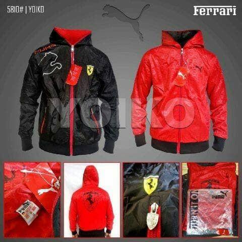 Jual jaket pria puma ferrari original bolak balik - gaconk store ... f4c5b86517