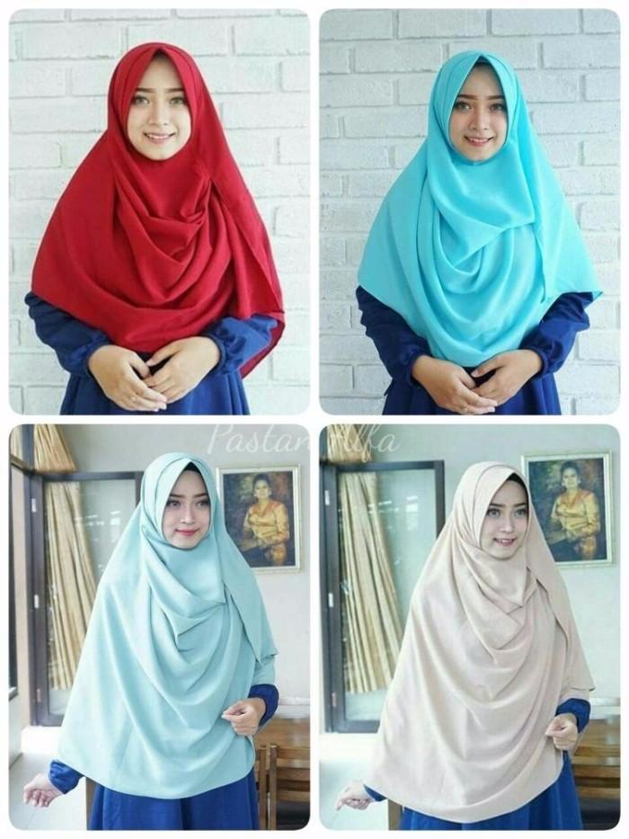 Jual Hijap Pashtan Ukuran L Pashmina Instan Pastan Krudung Jilbab Hijab S Kab Bandung Annisa Store28 Tokopedia