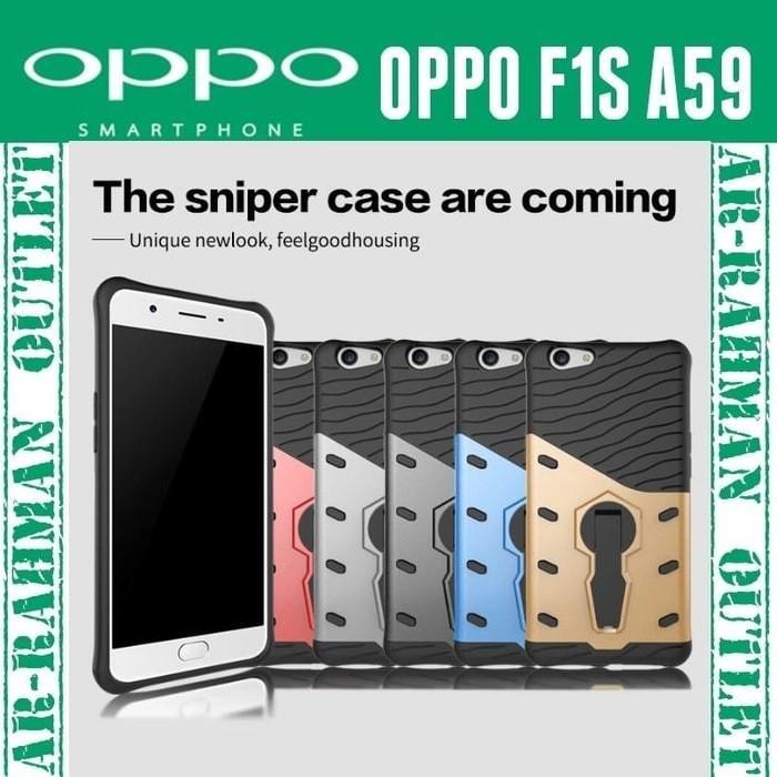 Oppo F1S selfie A59 case cover casing sniper TPU anti crack armor A 59