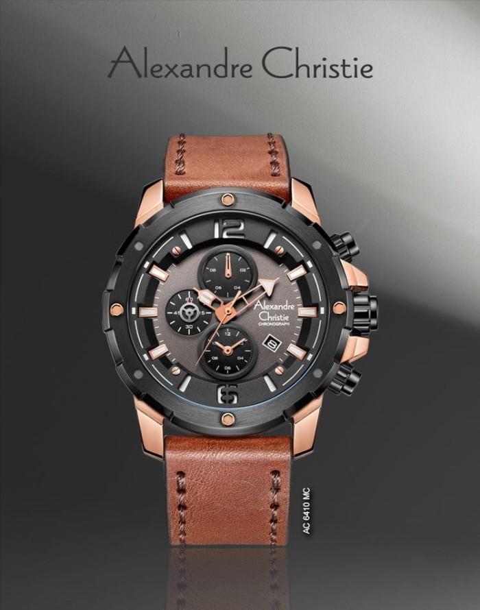 Alexandre Christie 6410 Rose Gold | Jam tangan Pria Alexandre Christie