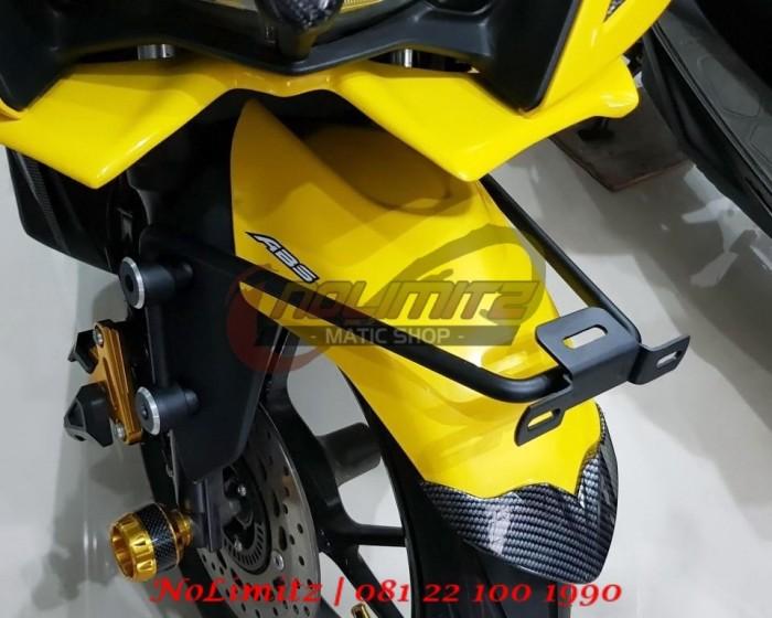 harga Braket besi dudukan plat nomer jalu spakbor depan mumo aerox 155 Tokopedia.com