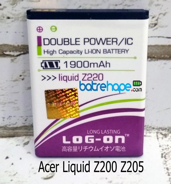 3f4353e8e5e harga Baterai battery log-on acer liquid z200 z205 z220 m220 bat311 bat-311