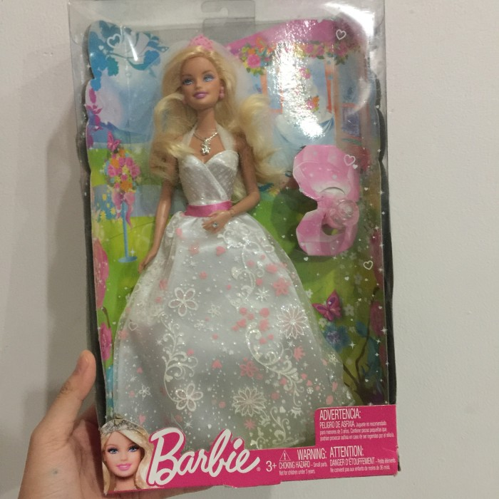 harga Barbie  white dress Tokopedia.com