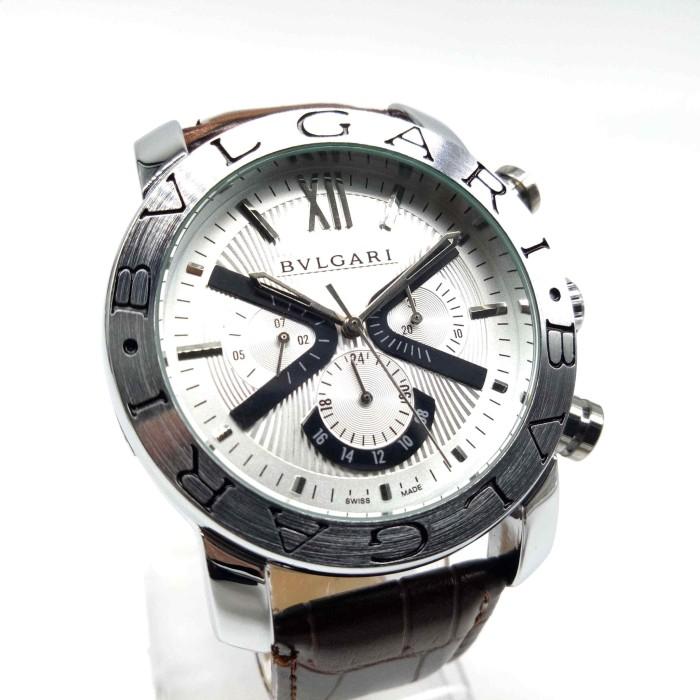 harga Jam tangan arloji pria bvlgari automatic otomatis stainless steel Tokopedia.com