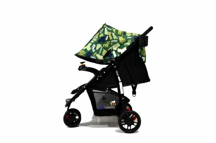 harga Stroller Baby Labeille Roda 3 Khusus GOJEK - Biru Tokopedia.com