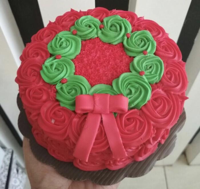 harga Cake edisi natal size 14cm lapis surabaya Tokopedia.com