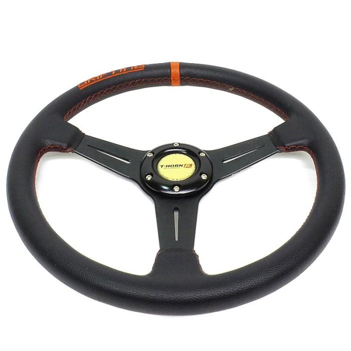 AUTOFRIEND Stir Racing AI-5167 13 Inch Racing Setir Steering Wheel Bla