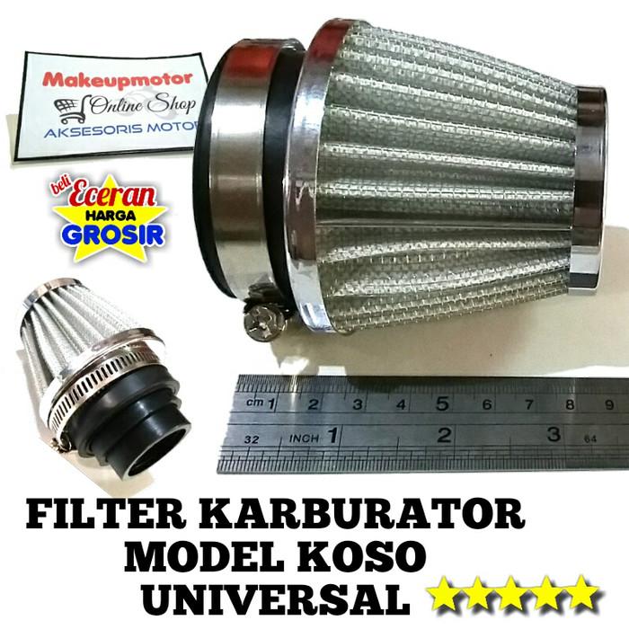 harga Saringan udara motor model koso | filter karburator | universal Tokopedia.com