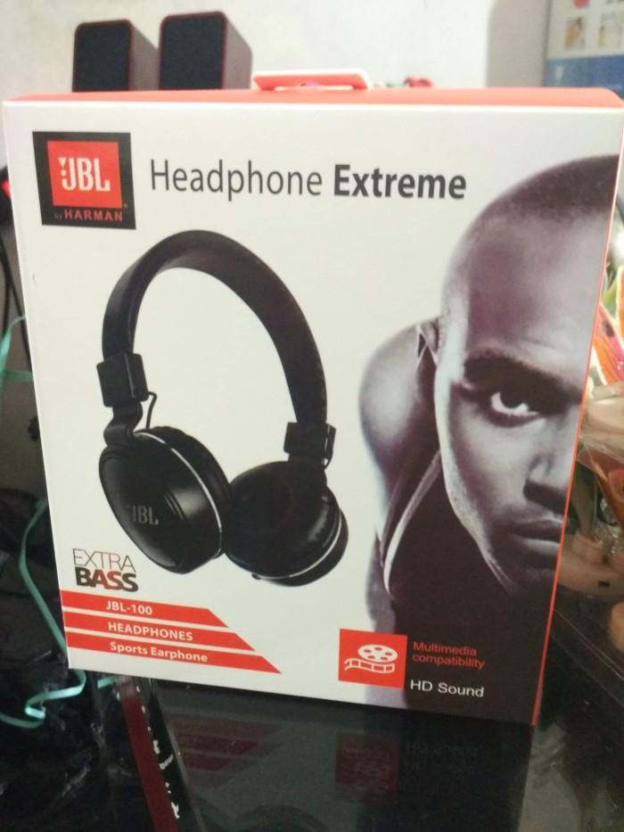 harga Headset / headphones jbl-100/ jbl 100 extreme bass Tokopedia.com