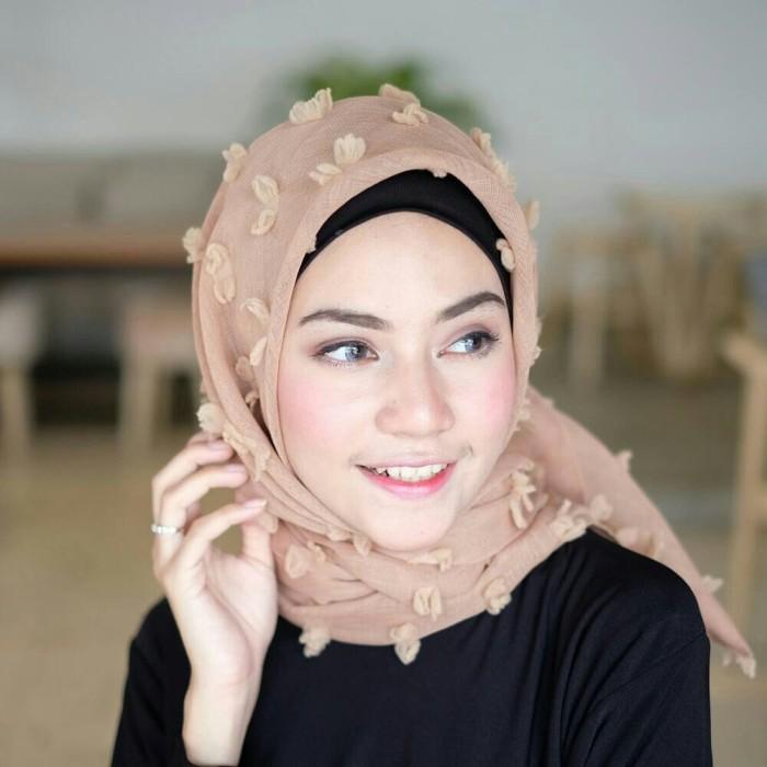 hijab segi empat instan rubiah