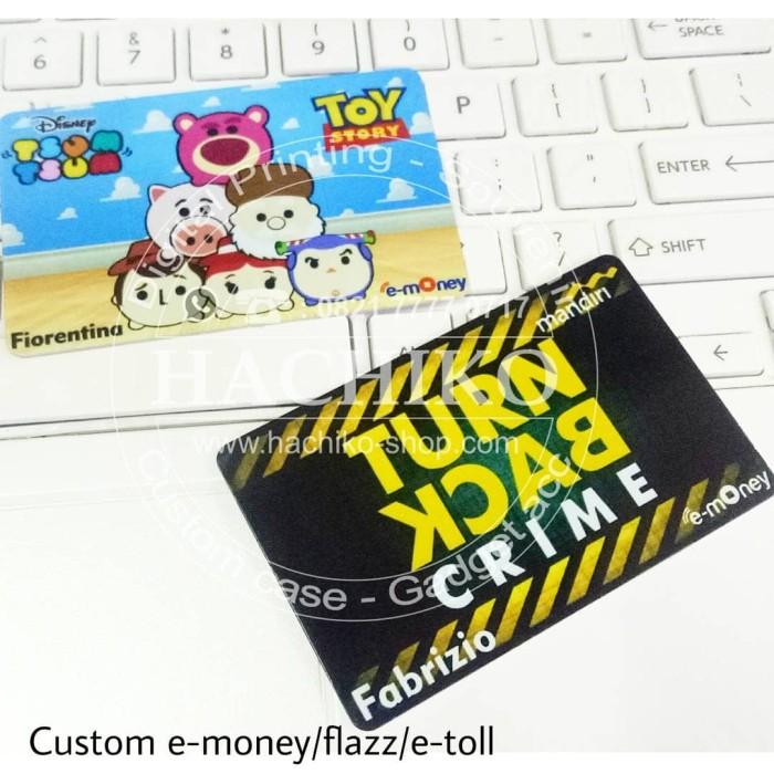 Jual Jasa Ongkos Cetak Custom E-Money Flazz E-Toll Card ...