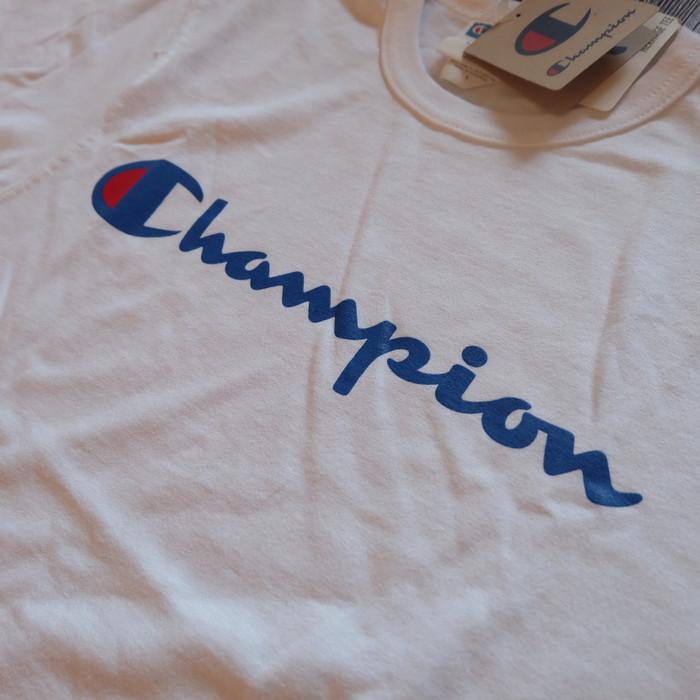 762bc9a717b5 Jual Champion Script Tee White Original - Kota Bogor - RH Shop 14 ...