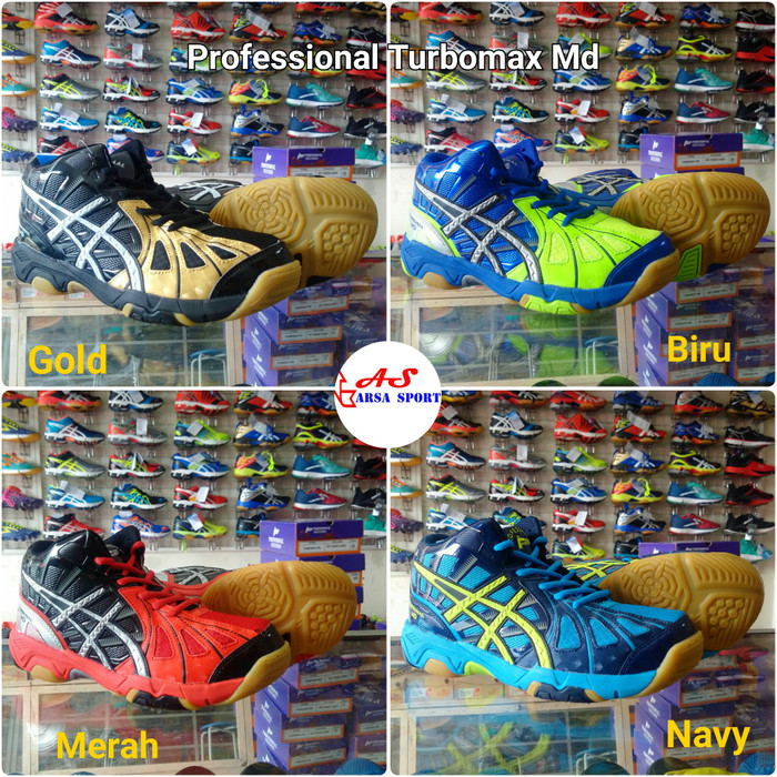 Professional Sepatu Volley Professional Turbomax Md Original - Wikie ... 1209cfb6a7